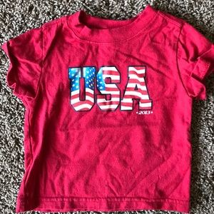 Faded glory 18 month patriotic shirt